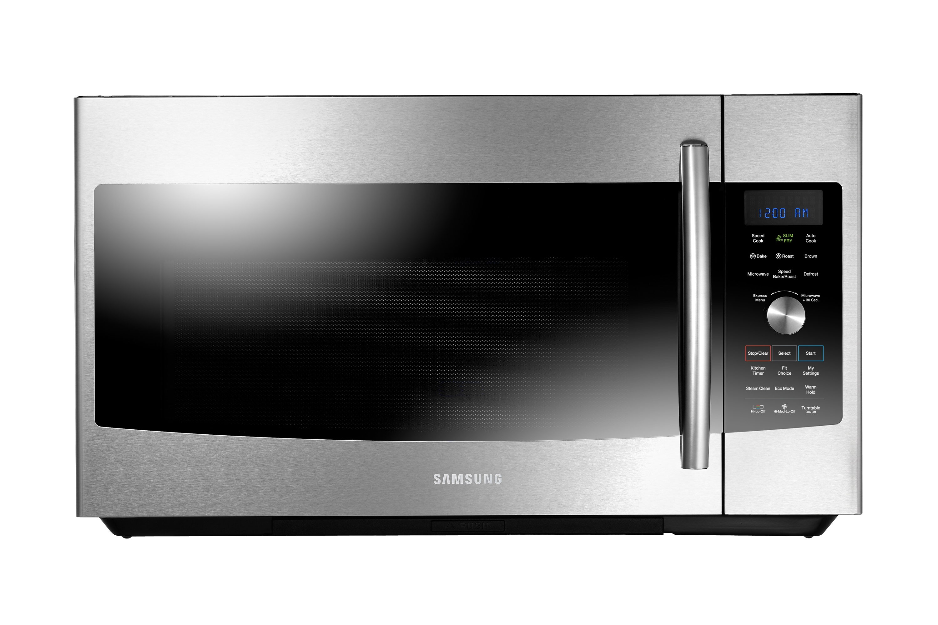 mc17f808kdt over the range microwave with slim fry 1 7 cu ft mc17f808kdt ac samsung canada