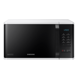 solo microwave oven with dual dial 23l