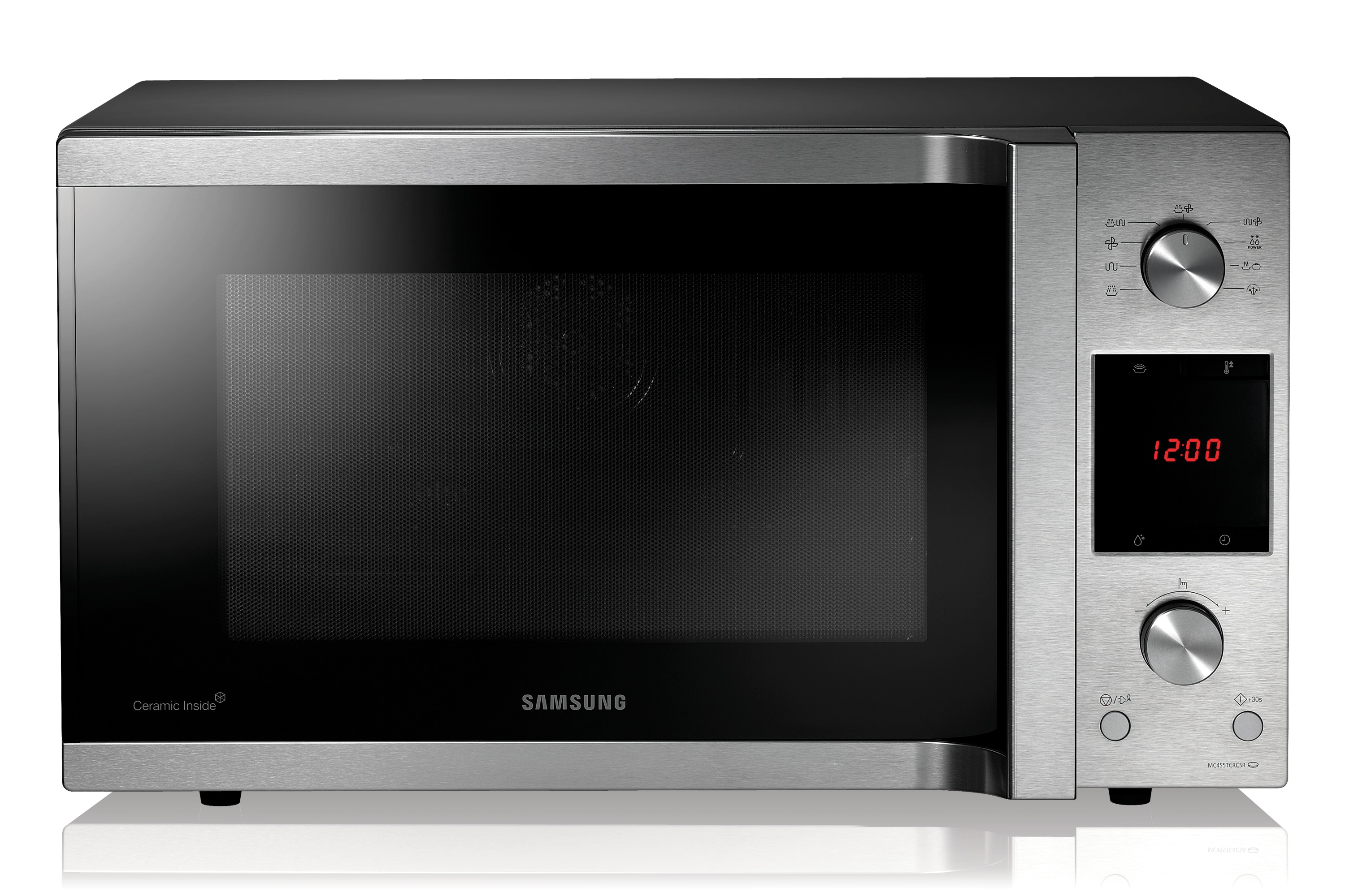 convection microwave oven with big capacity 45l