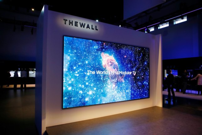 Image result for samsung television the wall