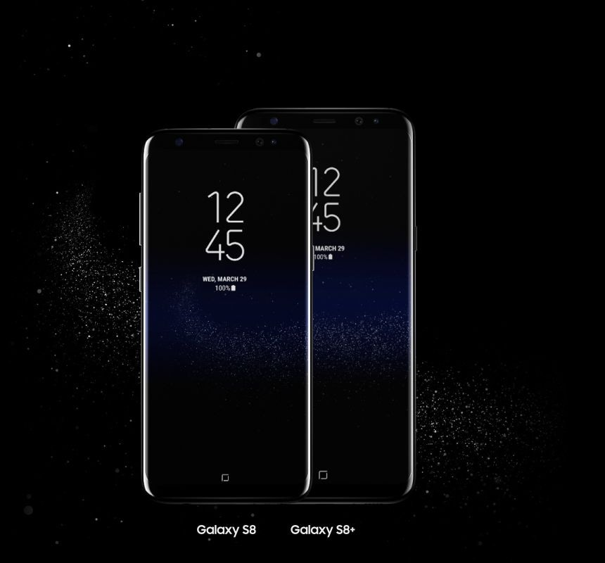 Samsung Galaxy S8 and S8 Plus Mobile Display