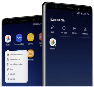 What is the Secure Folder and how to use it?   Samsung Support Philippines