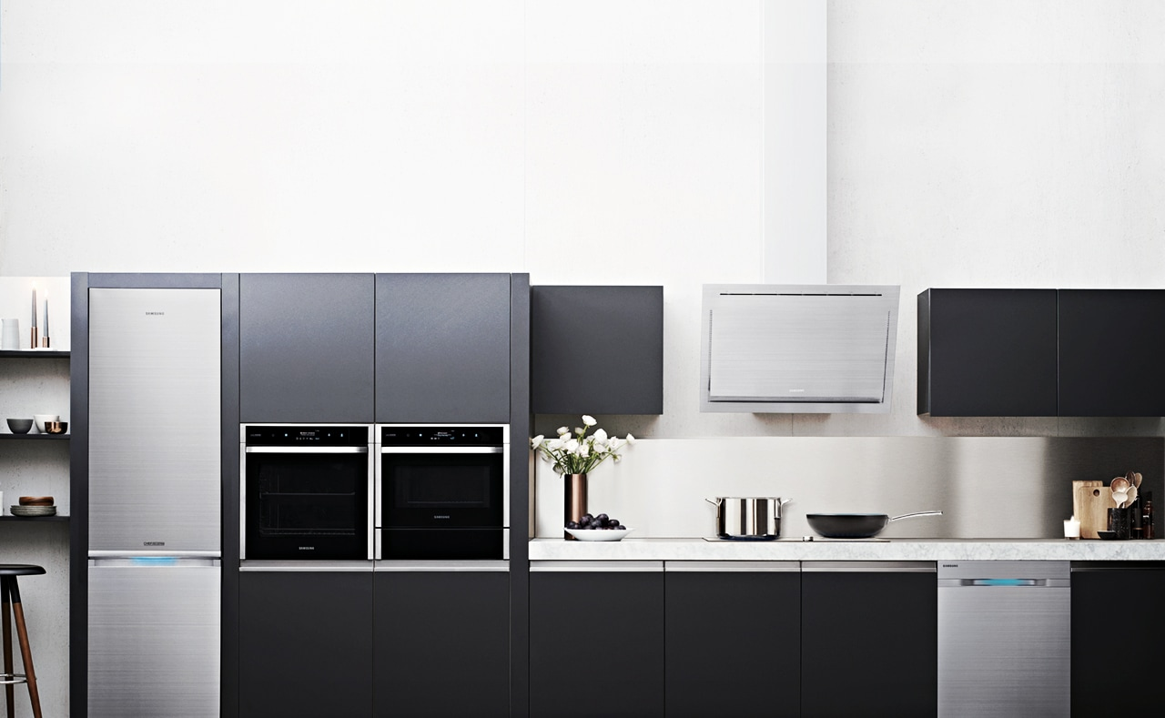 kitchen dishwashers decorative tiles for samsung chef collection: revolutionary appliances ...