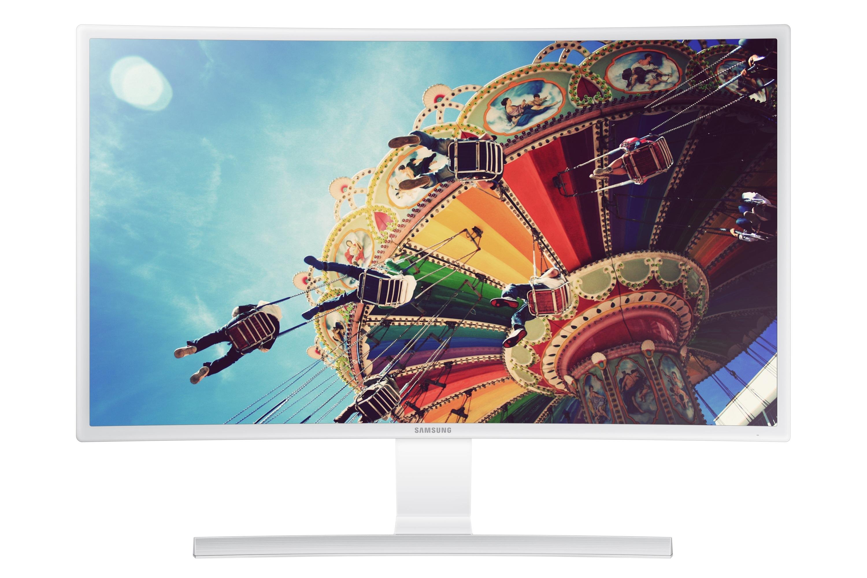S27E591C 曲面顯示器 舒視環繞 如臨真實   Samsung 支援 臺灣