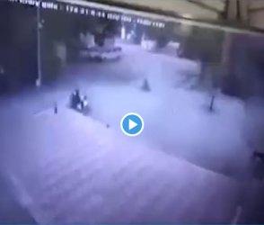 ભયાનક CCTV ફૂટેજ : ગણતરીની સેકન્ડ્સમાં રૂમ ફાટી ગયો, ધુમાડાના ગોટેગોટા ઉડ્યા