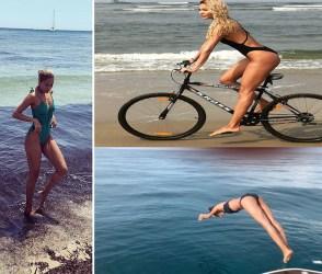 લીઝા હેડને ફરીથી શેર કર્યો પોતાનો હોટ & બોલ્ડ અવતાર, જોવા મળી 'બિચ' પર pics