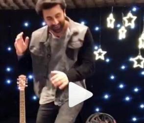 શાહરૂખ ખાનના ગીત પર રણબીરનો છૈયા છૈયા ડાન્સ, Viral Video