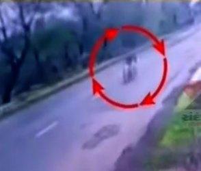 Video : ખતરનાક અકસ્માત, તમારા પણ જીવ થઈ જશે અદ્ધર