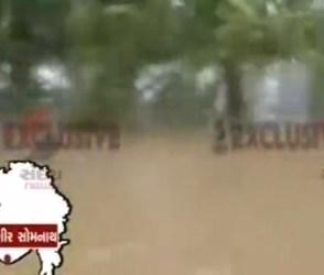 સૌરાષ્ટ્રમાં મેઘતાંડવ, ગીર ગઢડા અને હરમડીયા ગામ બેટમાં ફેરવાયું, જુઓ વીડિયો