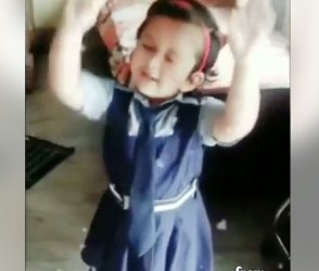 Sanjuના સોન્ગ પર આ નાની છોકરીએ લગાવ્યા એવા ઠુમકા કે જોતા રહી જશો, Viral Video