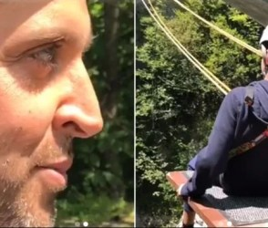 Video: ઋત્વિક રોશનના દીકરાએ લગાવી નદીમાં છલાંગ, કુદતા જ થયું કંઇક આવું…