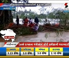 નદીમાં ઘોડાપૂર, NDRF દ્વારા બચાવ કામગીરીનો જુઓ video