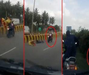 આવો અકસ્માત તમે કયારેય નહીં જોયો હોય, રામ રાખે તેને કોણ ચાખે, જુઓ Video