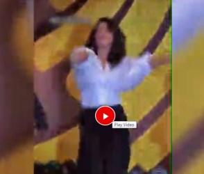 'દેશી ગર્લ' ગીત પર પ્રિયંકા ચોપરાએ કર્યો જોરદાર ડાન્સ, વિડીયો વાયરલ