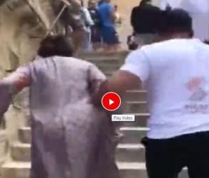 માતાને સીડીઓ ચડાવી રહ્યો છે સલમાન ખાન, વિડીયોમાં છે 'પ્યાર કા બંધન'