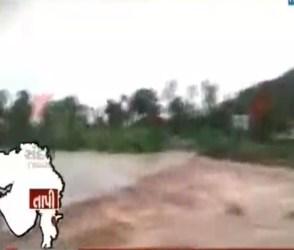 ભારે વરસાદના કારણે મહારાષ્ટ્રના નવાપુરમાં ઘોડાપુર આવ્યું, જુઓ video