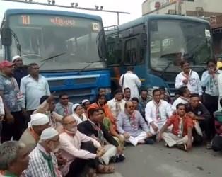 કોંગ્રેસનું ભારત બંધ: જાણો ગુજરાતમાં બંધને લઈ ક્યા કેવો પ્રતિસાદ મળ્યો