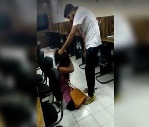 છોકરી કગરતી રહી પરંતુ છોકરો બેરહેમીથી ફટકારતો રહ્યો, દર્દનાક ઘટના Videoમા કેદ