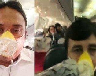 Video: મુંબઇ-જયપુર વિમાનમાં પેસેન્જર્સના નાક-કાનમાંથી ધડધડ લોહી વહેવા લાગ્યું