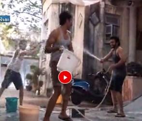 'મિત્રોં' ફિલ્મનાં સ્ટાર્સે ફિલ્મનાં સેટ પર કરી જોરદાર મસ્તી, જુઓ વિડીયો