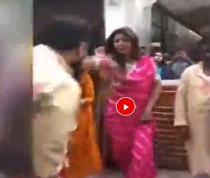 ગણપતિ વિસર્જન દરમિયાન શિલ્પા શેટ્ટીએ લગાવ્યા ઠુમકા, જુઓ વિડીયો