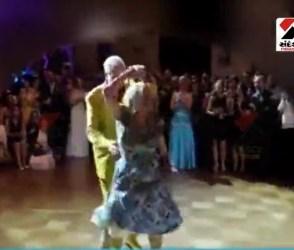 જુવાનીયાઓને શરમાવે તેવો દાદા-દાદીનો ડાંસ કરતો જુઓ Viral Video