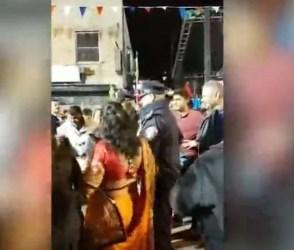 Video: ચાર-ચાર બંગડી..ગીત પર ગુજરાતીઓ સાથે US પોલીસ ગરબે ઘૂમી