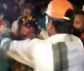 Video : યુવકે કર્યું કંઈક એવું કે BJPના MLA રીતસરના તુટી પડ્યાં