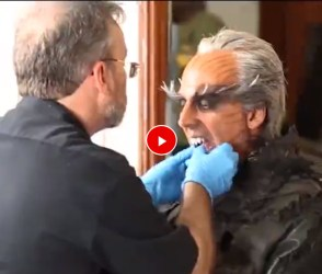 '2.0' ફિલ્મ માટે આ રીતે ક્રોમેન બન્યો અક્ષય કુમાર, જોઇ લો વિડીયો