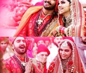 Photos: દીપિકા-રણવીરનાં લગ્નનાં ફૉટો આવ્યા સામે, આ રીતે 'બાજીરાવ'ની બની 'મસ્તાની'