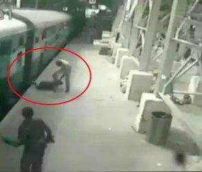 Video: ટ્રેન અને પ્લેટફોર્મની વચ્ચે યુવક ઢસડાવા લાગ્યો અને પછી જે થયું…
