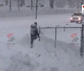 USમાં ભારે હિમવર્ષા શરૂ, અનેક વિસ્તારોમાં પડ્યો 5 ઈંચ સુધીનો બરફ, જુઓ વીડિયો
