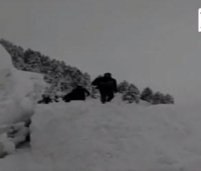 ઉત્તરાખંડમાં ભારે હિમવર્ષા, વીડિયો જોઇને તમને ચઢશે ઠંડી