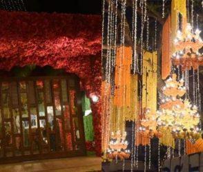 Photos: ઈશા-આનંદનાં લગ્ન, દુલ્હનની જેમ શણગારવામાં આવ્યું 'એંટીલિયા', જોઇ લો તસવીરો