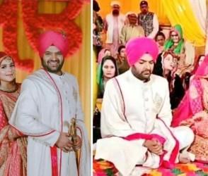 Photos: કપિલ શર્માએ બીજા દિવસે સિખ રીતિ-રિવાજ પ્રમાણે કર્યા લગ્ન, જુઓ ફોટો