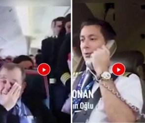 પાયલટે વિમાનમાં સરપ્રાઇઝ આપતા ધ્રુસકે-ધ્રુસકે રડી પડ્યા સ્કૂલ ટીચર, જુઓ ભાવુક વિડીયો