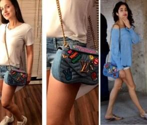 Photos: જ્હાન્વીને કૉપી કરતી જોવા મળી અમીષા પટેલ, 2 લાખની બેગ સાથે જોવા મળી