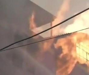 દિલ્હીની પેપર કાર્ડ ફેક્ટરીમાં લાગી ભયંકર આગ, આગનાં ગોટા જોઇને રહી જશો દંગ