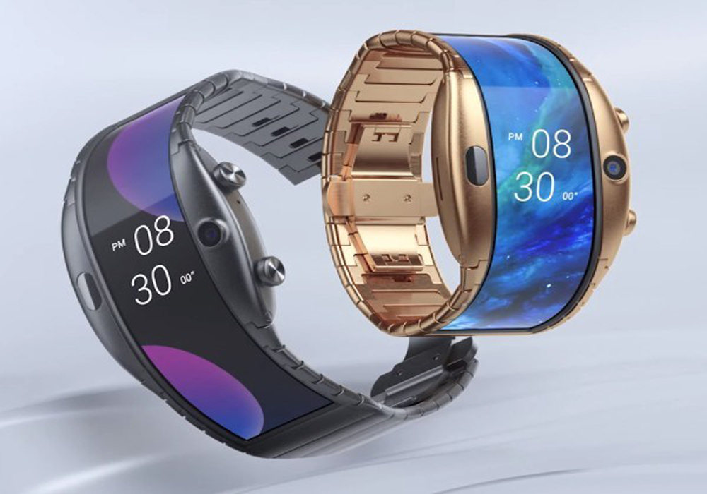 Launched a huge smartphone, which you can build on the wrist