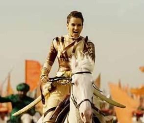 'મણિકર્ણિકા' ફિલ્મમાં કંગનાએ આ રીતે કર્યું હતુ ઘોડા પર બેસીને યુદ્ધ, વિડીયો જોઇ આવશે હસવું