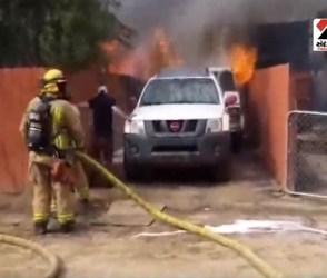 Video: ભયંકર આગમાં કૂદી આ શખ્સે બચાવ્યો કુતરાનો જીવ
