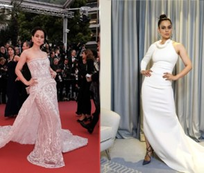 Cannes 2019: રેડ કારપેટ પર દેખાયો કંગના રનૌતનો જલવો, જુઓ ગ્લેમરસ Photos