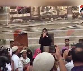 મોદીની જીત બાદ ઉત્સાહિત મુસ્લિમ મહિલાએ કહ્યું- રાહુલ સે લેંગે આઝાદી…