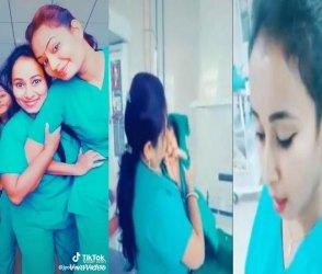 હોસ્પિટલમાં નવજાત બાળકની સાથે ડાન્સ કરતો નર્સોનો Tik Tok Video જોઇ આવશે ગુસ્સો