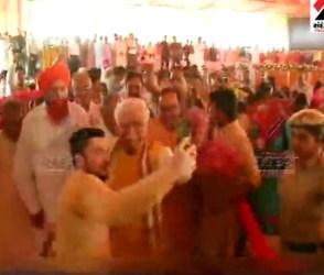 શખ્સ ગયો મુખ્યમંત્રી સાથે સેલ્ફી લેવા, CMએ ગુસ્સામાં એવું કર્યું કે VIDEO થયો વાયરલ