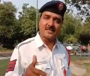 VIDEO: છવાયું ટ્રાફિક પોલીસનું રેપ સોન્ગ, 'હેલ્મેટ નહીં લગાયા તો આપકા ટાઈમ…'