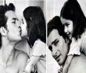 સારા અલી ખાને પિતા સાથે બાળપણની તસવીરો શેર કરી, થઇ રહી છે વાયરલ
