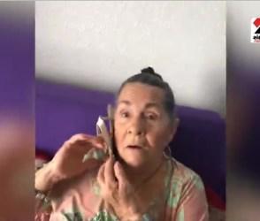 VIDEO: ઉંઘમાથી ઉઠતા વેંત જ દાદીને ફોનની જગ્યાએ પકડાવી દીધું ચપ્પલ, થઈ જોયા જેવી