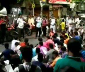 VIDEO: મમતાને ભાજપનો જવાબ, યુવા કાર્યકરોએ રસ્તા પર જ કર્યું હનુમાન ચાલીસાનું પઠન