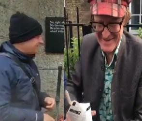 VIDEO: આપણી ખાણીપીણીનો ક્રેઝ લંડનની ગલીઓ સુધી, અંગ્રેજો વેચી રહ્યાં છે ભેળપુરી